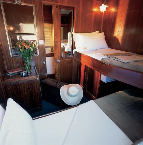 The Shongololo Express - Gold class cabin (Southern Africa)