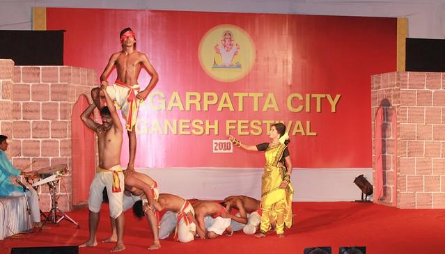 Cultural festival at Magarpatta City Ganesh Festival