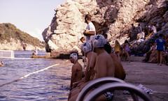 cap line (Tanya Skvortsova) Tags: travel sea summer game colour water xpro nikon croatia slide f100 reverse polo dubrovnik july2010 nikkor50mmf14g