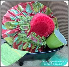 KIT HAPPY SPRING ! (Natural Emporio do Banho Soaps,since 2004) Tags: soap artesanal kit sabonete touca kitbanho toucadebanho bathitens bathtubandshowercap