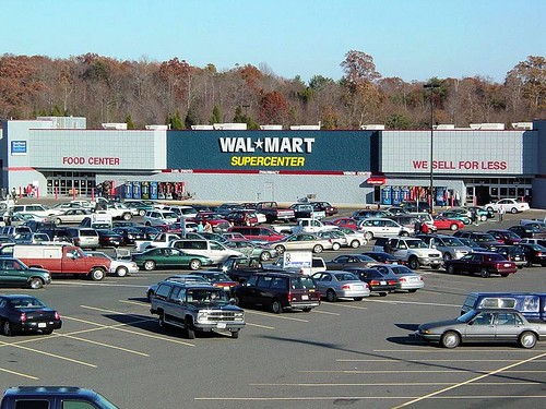 Walmart supercenter in Madison Heights, VA (by: Ben Schumin, creative commons license)