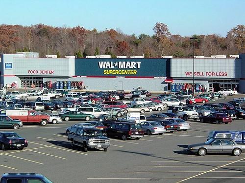 Walmart supercenter in Madison Heights, VA (by: Ben Schumin, creative commons license)