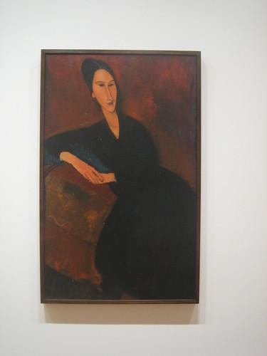 Anna Zborowska, 1917, Amedeo Modigliani _7469