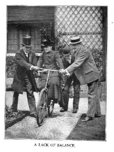 Woman Learning to Ride a Bike, 1890s