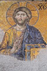 Icoon (by_irma) Tags: museum turkey mural mosaic trkiye istanbul icon mosque cami fresco hagiasophia turkije architectuur ayasophia mimari moskee icoon byzantijns mozak