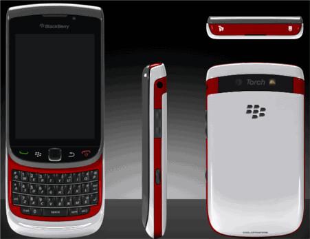 ColorWare BlackBerry Torch 9800