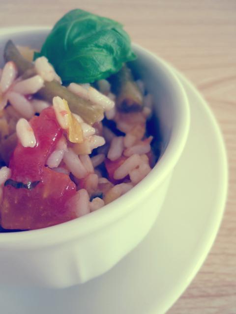 la minestra di riso di casa