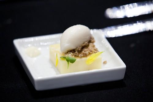 Pastry Chef Herzog's pre-dessert
