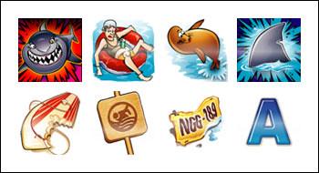 free Shaaark slot game symbols