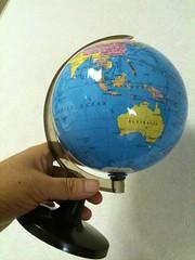 安い地球儀