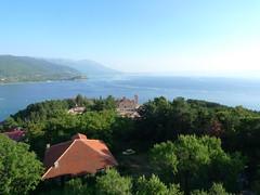 . (Marie Nolle Taine) Tags: europe balkans macedonia  republikamakedonija arym fyrom ohrid city urban landscape lake