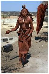 2010_08_21-06172-Kaokovelt-Sesfontein-Gli Himba (alessandro.ravizza) Tags: africa people african culture tribal safari afrika tribe ethnic namibia tribo himba afrique ethnology tribu namibie tribus ethnie