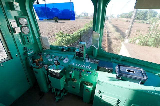 銚子電鉄2000形2001編成 デハ2001運転台