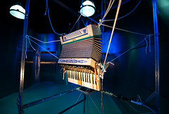 Misericordiam (navid j) Tags: nyc art brooklyn robot accordian robotic ranjitbhatnagar soundsculpture dumboartsfestival misericordiam