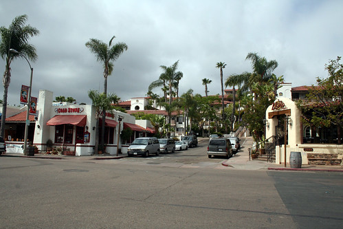 San Diego Old Town - Looking Back at Hotel
