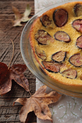 French Fig Clafouti