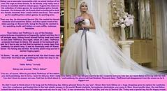 Bride caption (Jenni Makepeace) Tags: fetish bride tv transformation magic tgirl transgender sissy transvestite bridal caption captions tg mtf tgcaptions tgcaption