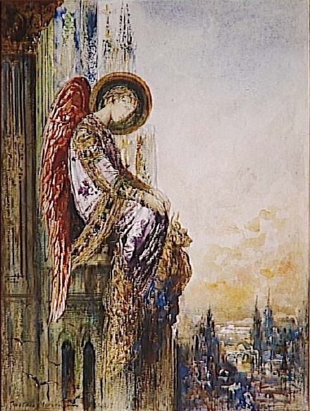 The migrant Angel
