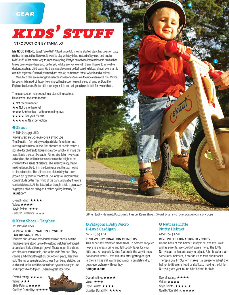 momentum magazine - september 2010 - KEEN Kid's Targhee