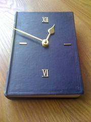 Book Clock #1