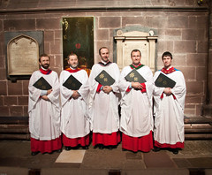 Layclerks (cathedralchoir) Tags: chester layclerks