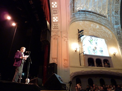 Jim Woodring at The Stranger Genius Awards, Sept. 17, 2010