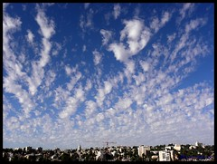 altocomulus clouds above Jerusalem -,     ,  (moshek70) Tags: sky weather clouds israel jerusalem