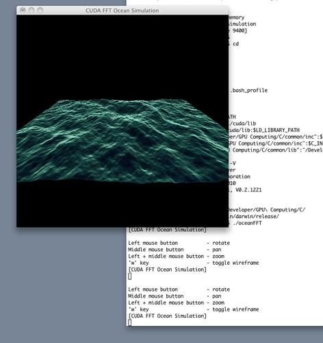 CUDA FFT Ocean Simulation