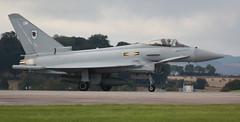 RAF Typhoon FGR4 - DM/ZJ923, Leuchars Airshow (Shandchem) Tags: show scotland fife air 11 typhoon raf leuchars 2010 septmber fgr4dmzj923