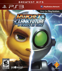 Ratchet & Clank Future: A Crack in Time Greatest Hits for PS3