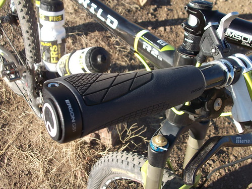 Testing the new Ergon GS1 grips