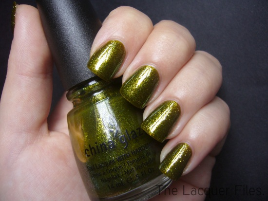 China Glaze Awakening Collection Halloween 2010 Zombie Zest Ick-A-Bod-Y Mummy May I