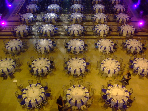 Tables in Liverpool Cathedral
