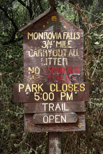 monrovia falls