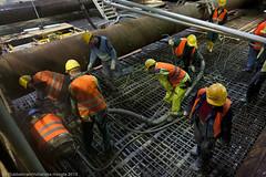 betonstort 28 september-16 (Noord/Zuidlijn) Tags: station amsterdam site construction metro transport tunnel transportation nz beton bouwput noordzuidlijn installatie vijzelgracht tunnelboormachine nzlijn tunnelboringmachine northsouthline uitgraven betonstorten ontgraven