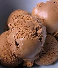 little scoops of chocolate ice cream 600X700