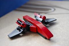 Phoneme R!pE-1 (scorpicore) Tags: lego space creation nrg ripe phoneme moc starfighter