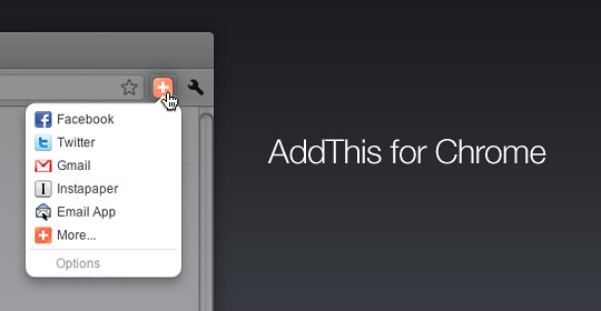 AddThis for Chrome just got a whole lot better  - AddThis