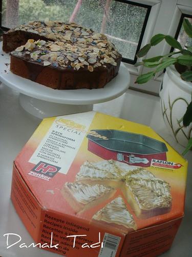Çikolatalı Armutlu Pasta