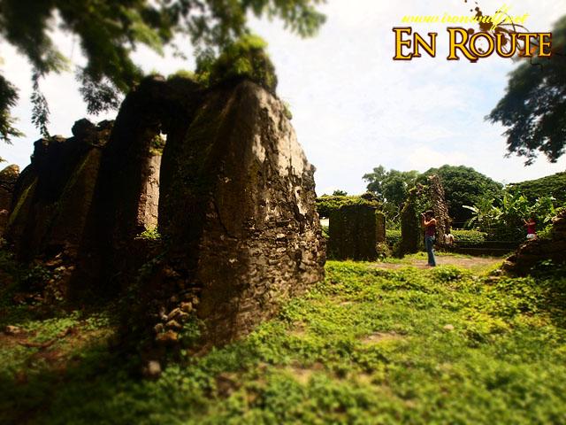 Visiting Pindangan Ruins