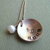 Mother's Necklace: 14K Gold Filled