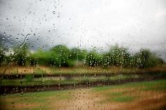Rain.... (kkdutta84) Tags: india water rain train canon droplets amateur orissa rainfall humidity westbengal indianrailways canon450d