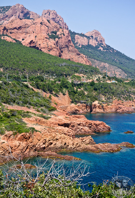 Landscape Near The Cap Esterel