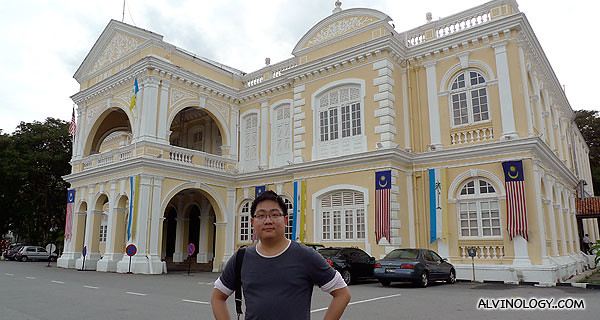 Me outside the Town Hall