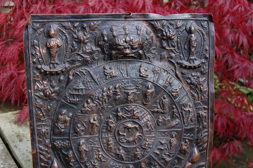 Wheel of Life - Copper Thangka