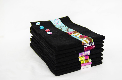 Patchwork Mini-Schals