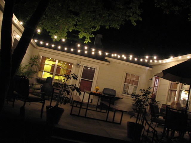 patio night