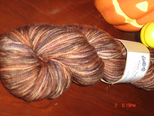 Wool Candy - Mad Hatter yarn