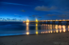 Nautical Twilight (MattSherman) Tags: beach pier nikon florida deerfieldbeach deerfield southflorida nauticaltwilight d300s