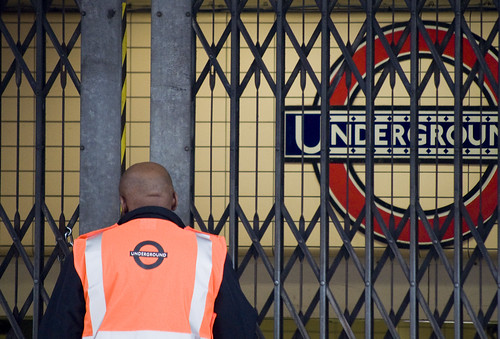 October 4th Tube Strike -- TFL Employee  by C. G. P. Grey